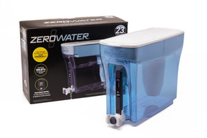 ZeroWater 23 Cup/ 5.4 ltr Water Filtration Dispenser with Free TDS Meter - 2tech ltd