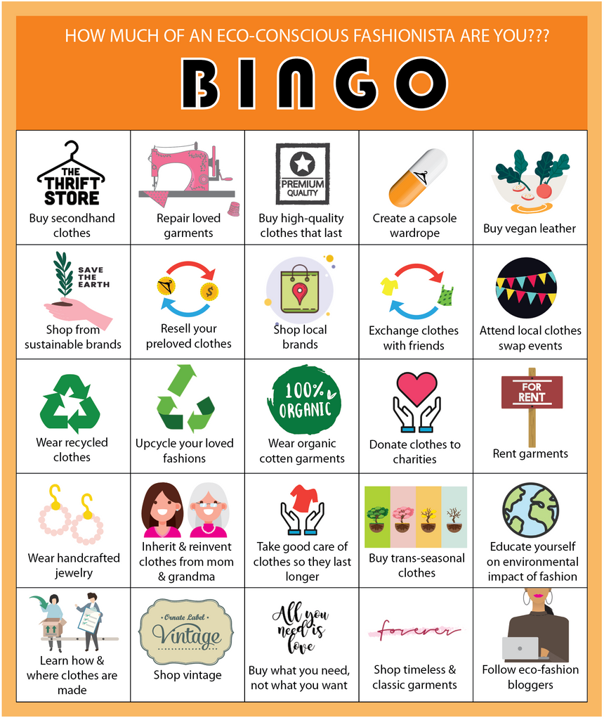 Bingo - You're an eco-fashionista!