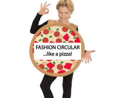 Eco-conscious, sustainable and ethical fashion... circular like a pizza!