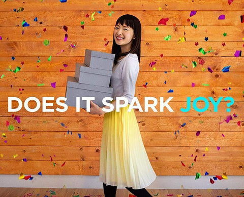 Does it spark joy Marie Kondo Netflix