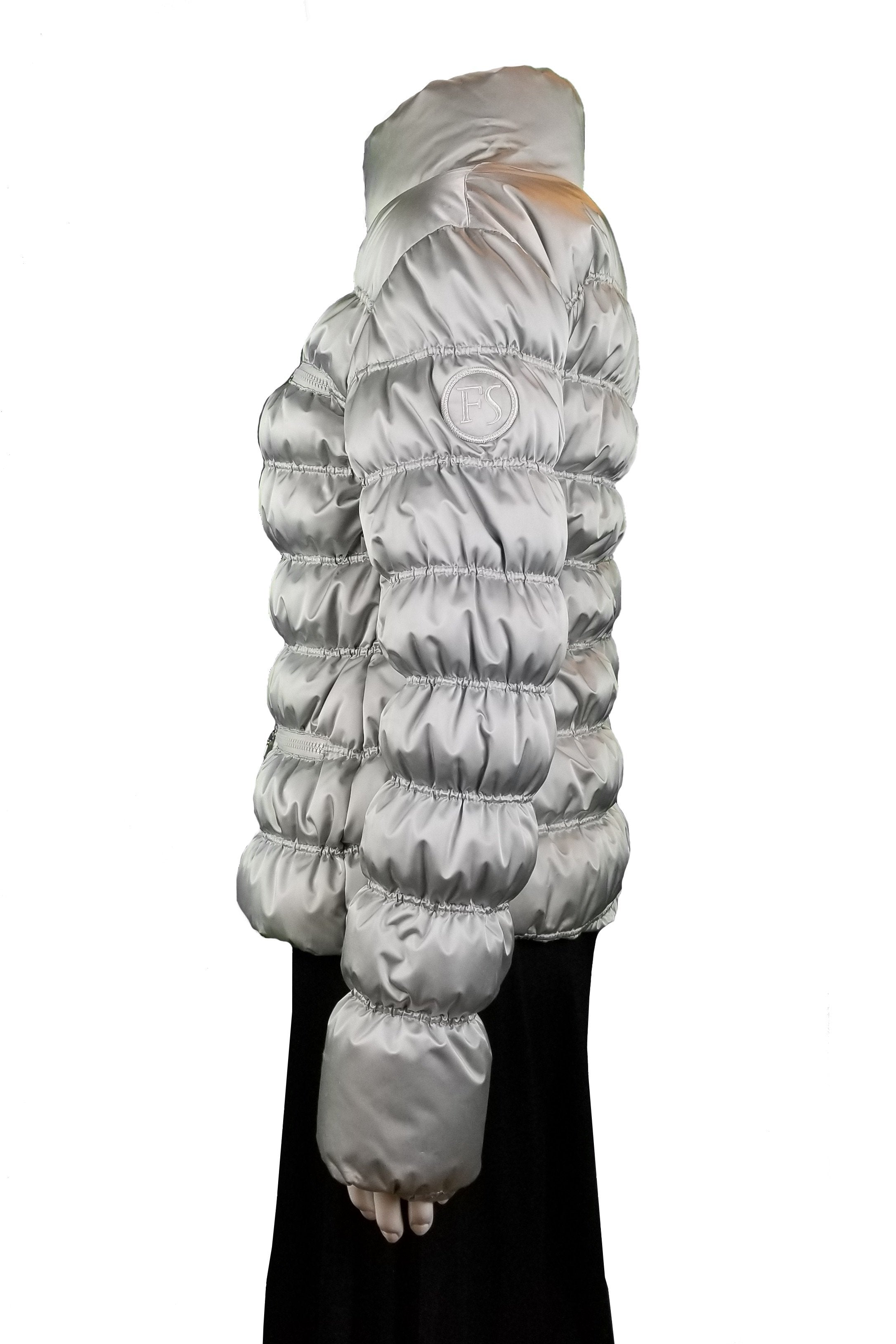 Frost Sportiva Winter Down Jacket, Beautifully designed in the Rocky Mountains for the stiff winters. , White, Shell and lining: 100% polyester; filling: 100% goose down, Women's winter jacket, women's winter fashion, made in Canada, women's down jacket