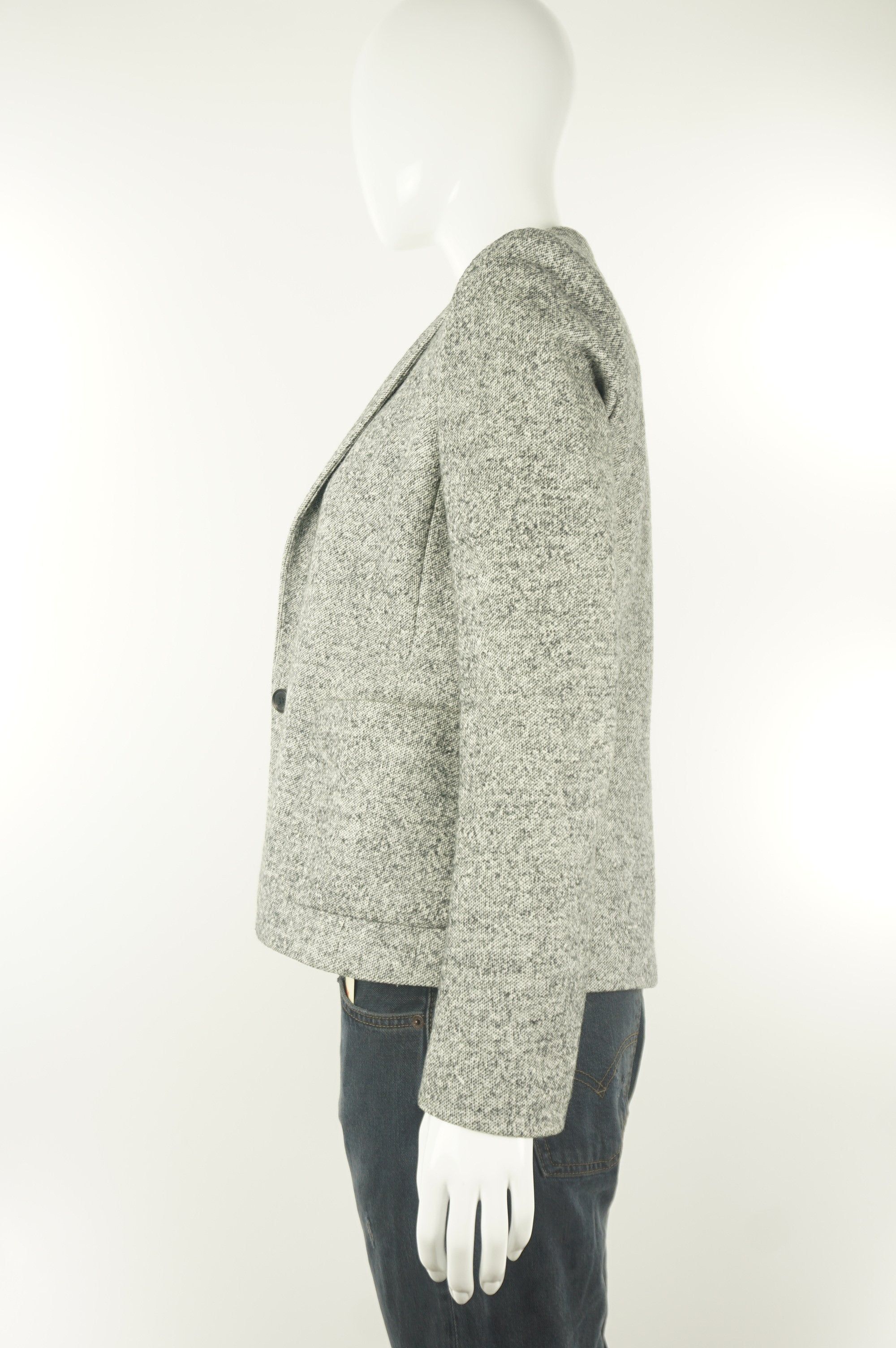 Wilfred Wool Blazer, Blazer for the office or wherever you want to impress:), Grey, 55% cotton, 45% wool.,
