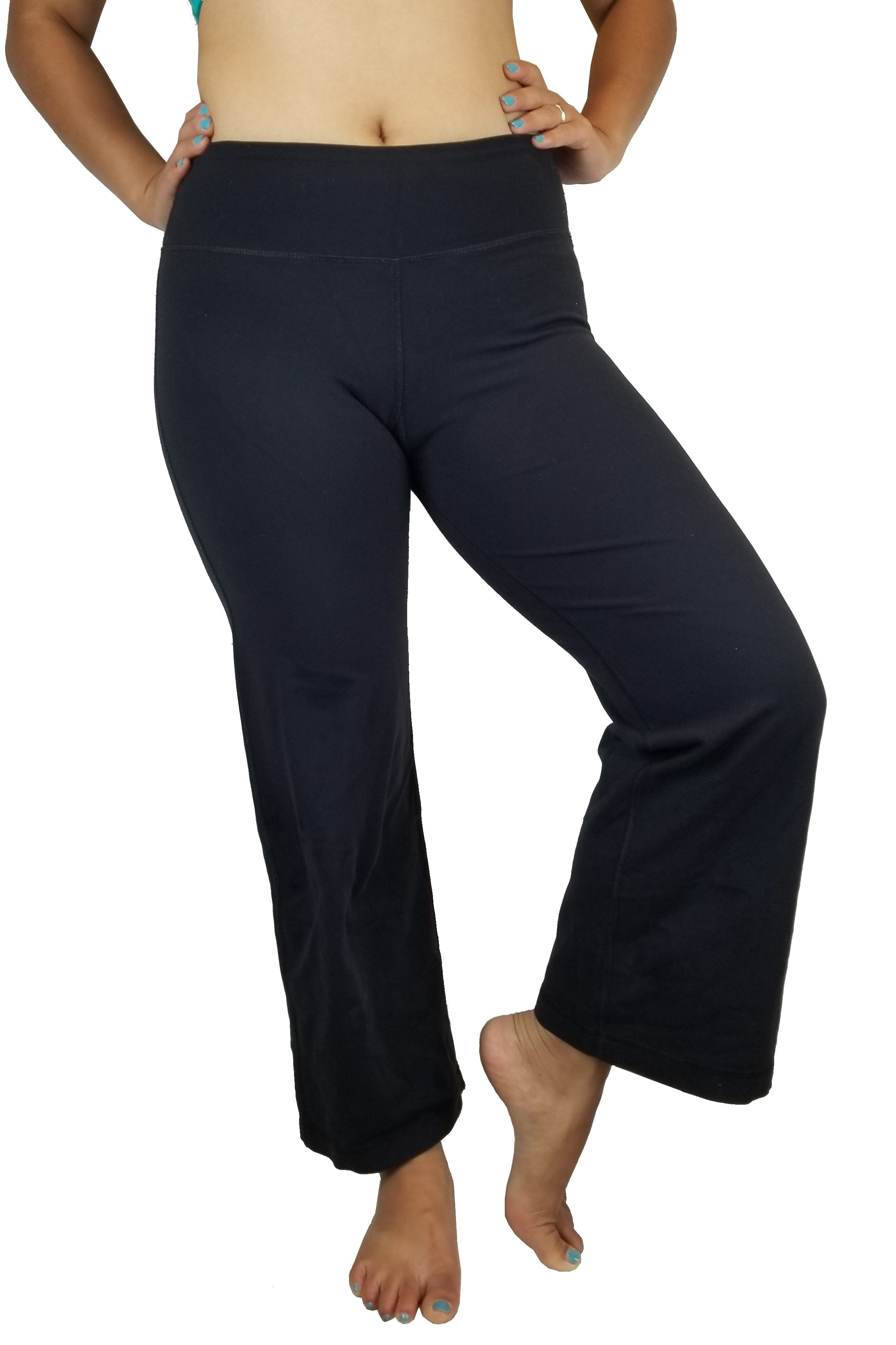 Lululemon Flare yoga pants, Flare design for comfort and breathability. Less of a Vancouver street wear? Lululemon size 4. https://info.lululemon.com/help/size-chart, Pink, Black, Nylon, Lycra, and Spandex, women's Activewear, women's Pink, Black Activewear, Lululemon women's Activewear, Yoga, yoga pants, women's athletic wear, women's work out clothes, women's comfortable pants, fitness, fit