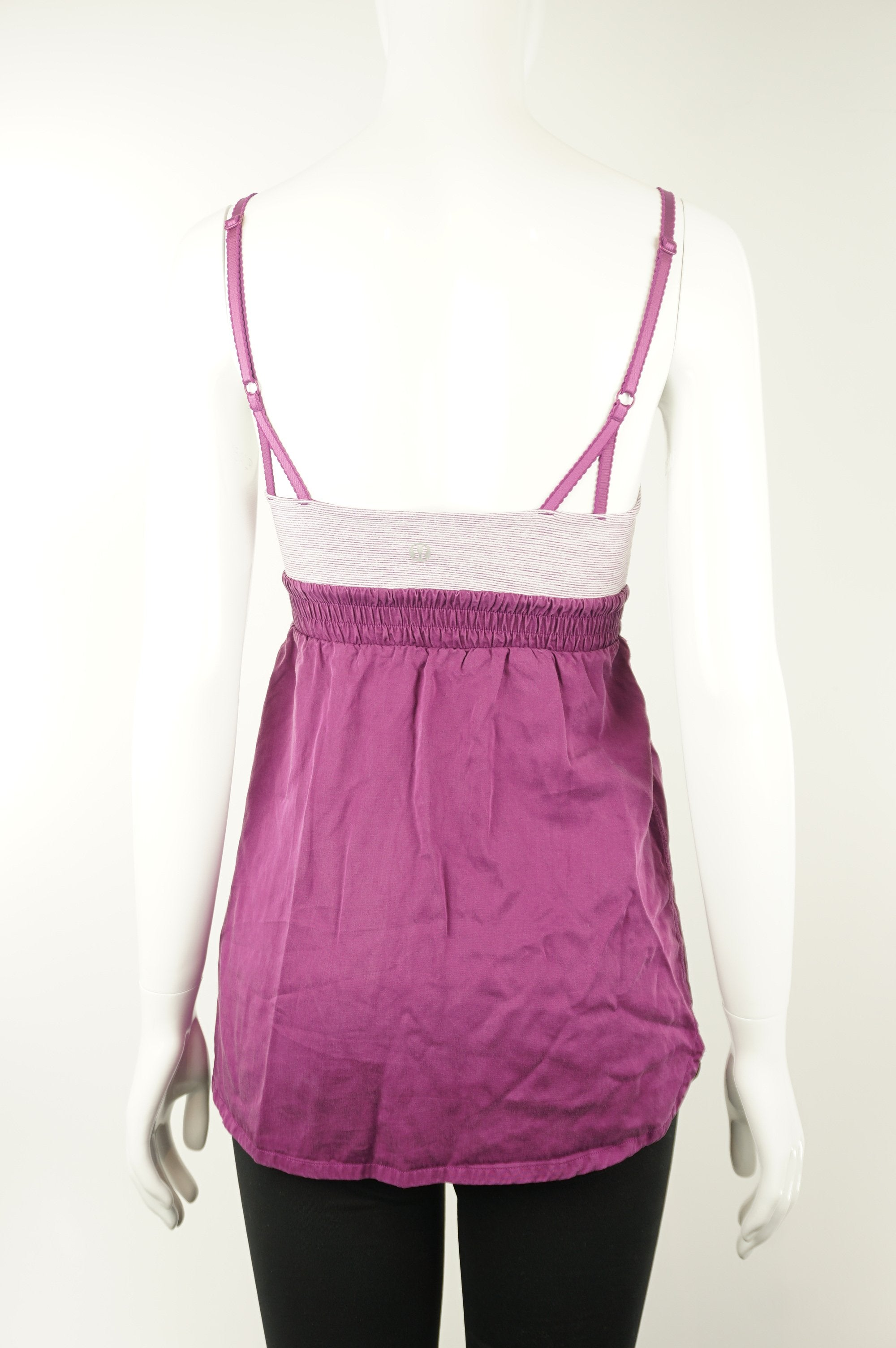 Lululemon Athletic Top, Women or girls top. Lululemon size 4. https://info.lululemon.com/help/size-chart, Purple, Nylon, Lycra, and Spandex, Yoga, yoga pants, women's athletic wear, women's work out clothes, women's comfortable pants, fitness, fit
