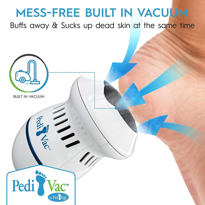 Rechargeable electric foot callus remover plus Heel shiner
