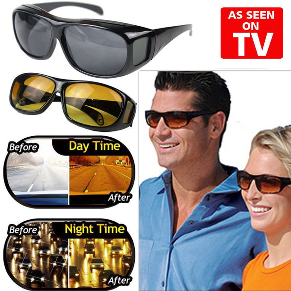 "HD VISION DAY & NIGHT DRIVING  GLASSES --""BUY 1 GET 1 FREE"""