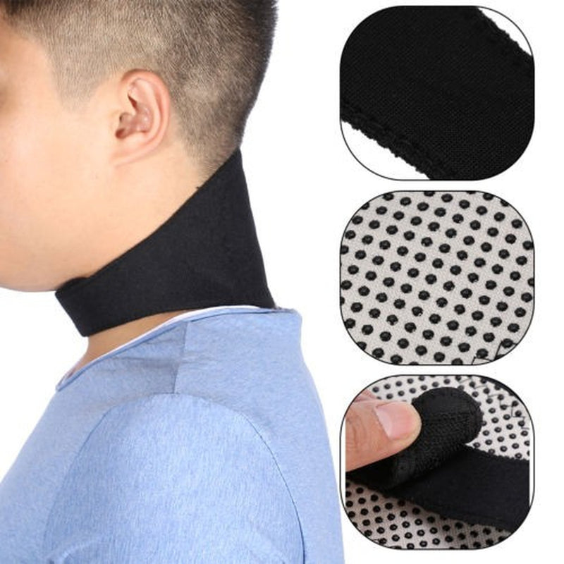 Get Instant Pain Relief - Self Heating Magnetic Neck Belt
