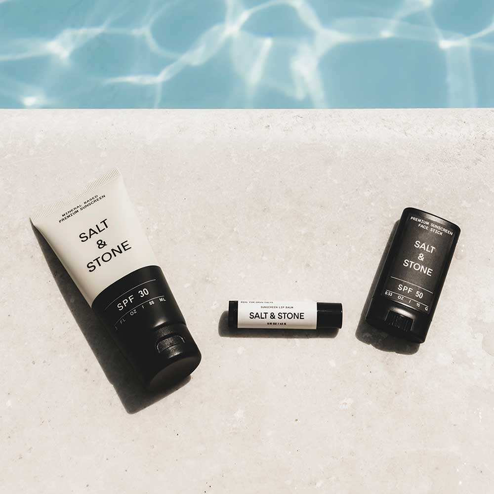 wellness skincare by the pool for summer