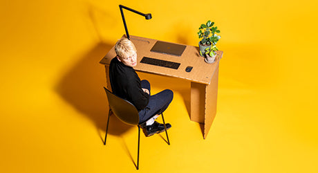Stykka Designs a Temporary Workstation so You'll Stay the F*** Home