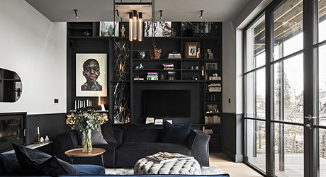 A Look Inside Massimo Buster Minale's Industrial-Inspired Stockholm Home