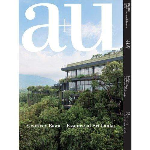 ACC Art Books Home Decor a+u: Geoffrey Bawa — Essence of Sri Lanka
