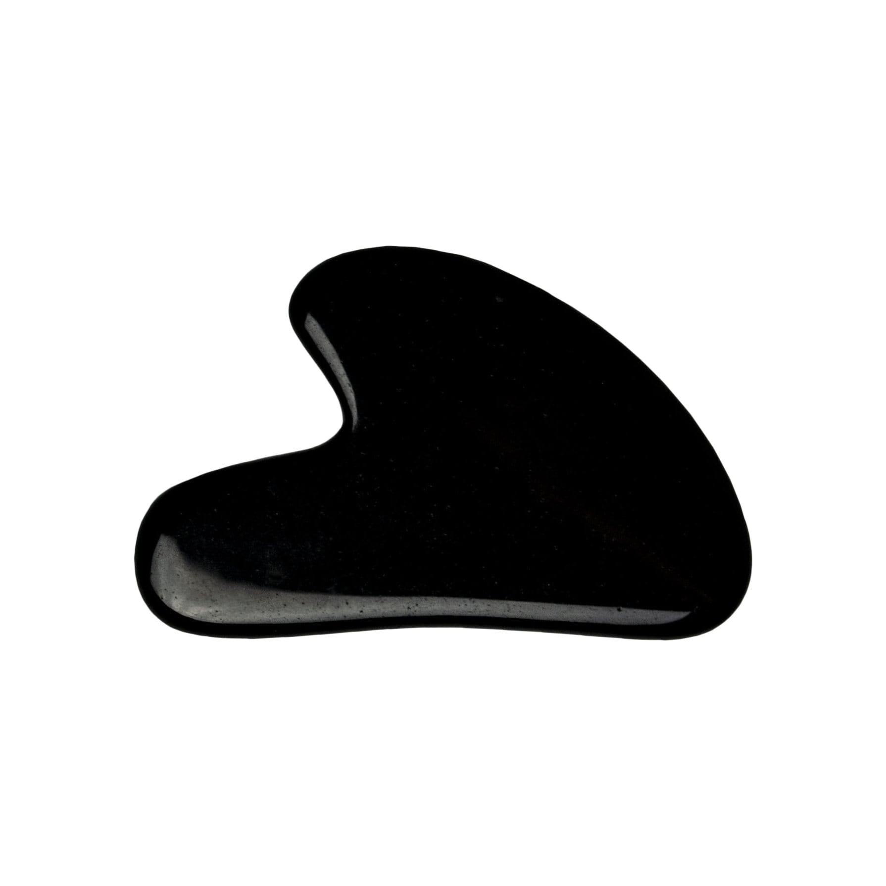 Alder New York Face Black Obsidian Gua Sha Massage Stone