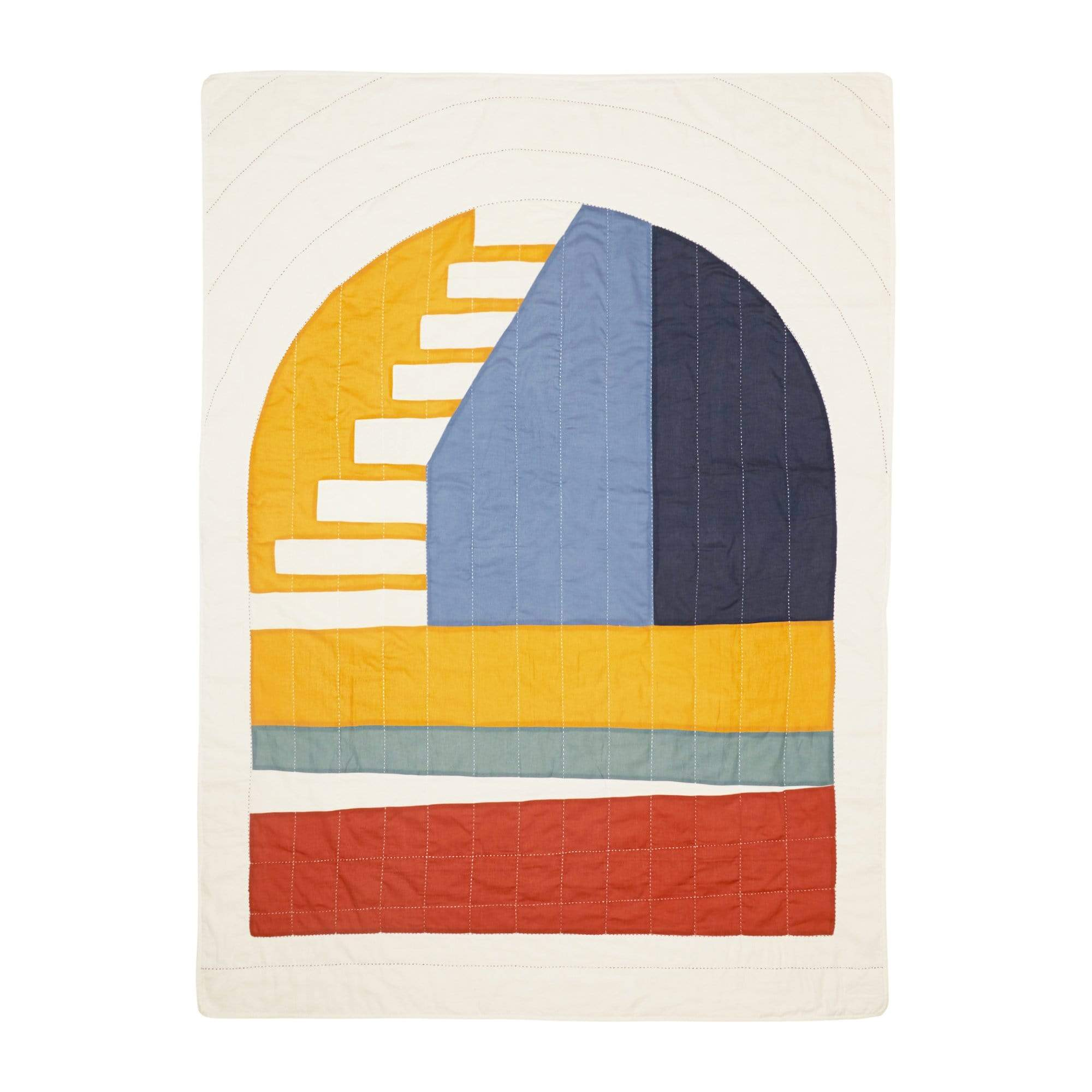 Anchal Project Cushions + Throws Ascend Quilt Throw