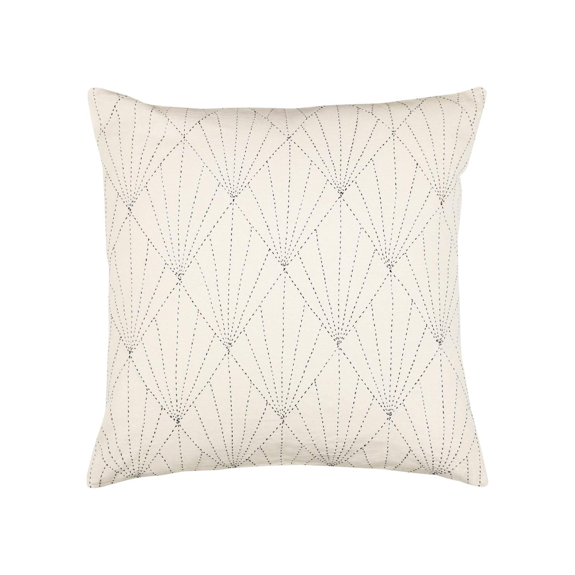 Anchal Project Cushions + Throws Bone Array Throw Pillow