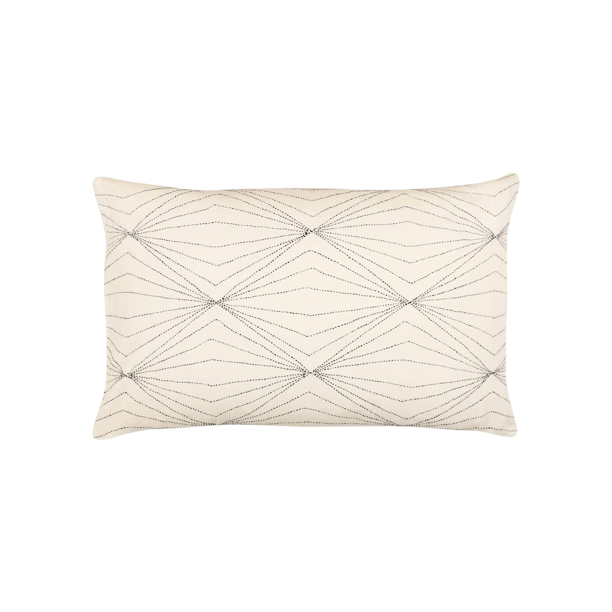 Anchal Project Cushions + Throws Bone Prism Lumbar Pillow