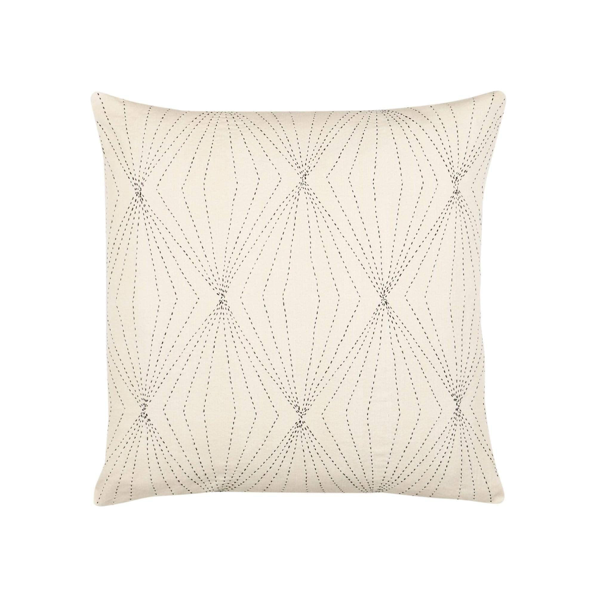 Anchal Project Cushions + Throws Bone Prism Throw Pillow
