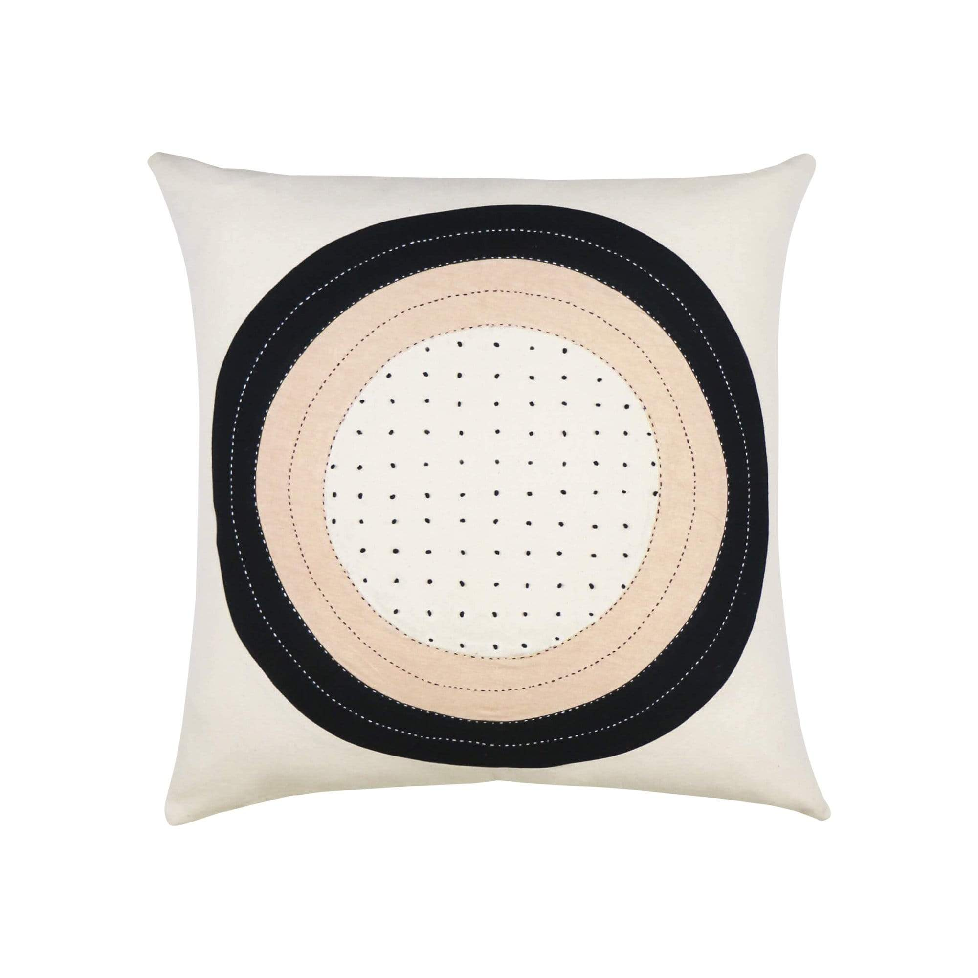 Eclipse Dot Throw Pillow