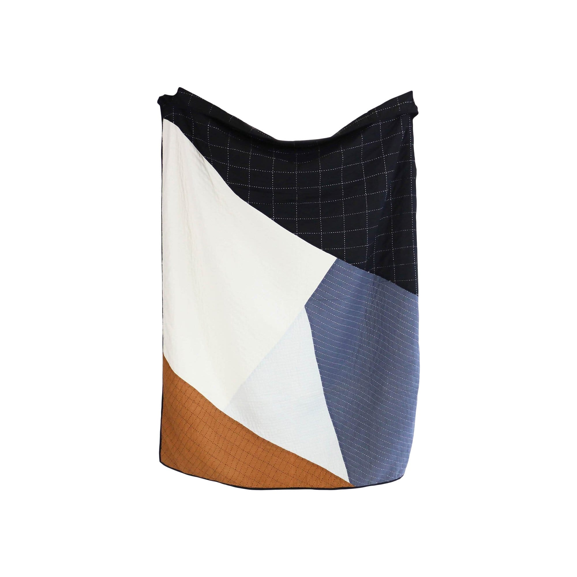 Anchal Project Cushions + Throws Naari Patchwork Throw
