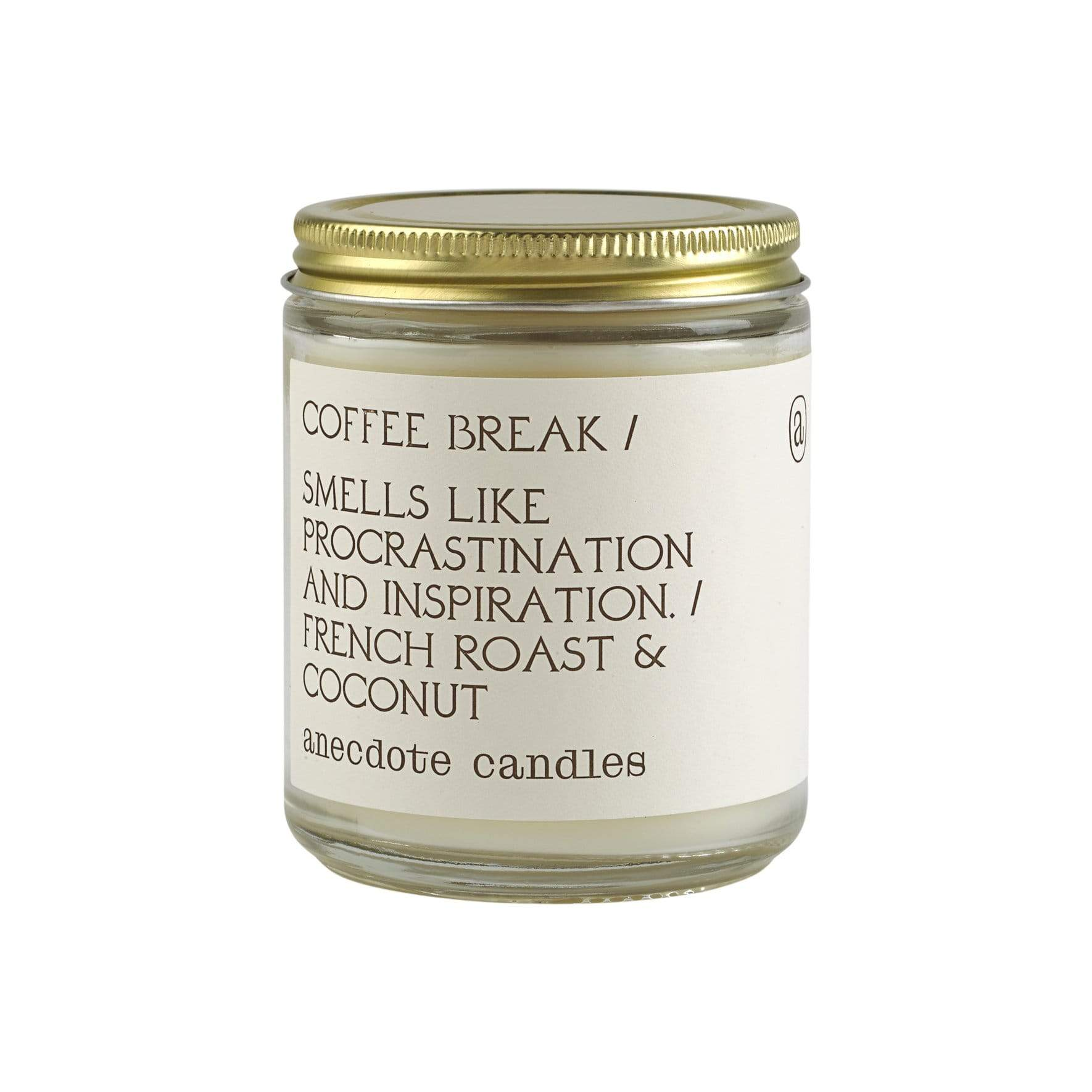 Coffee Break French Roast + Coconut Candle