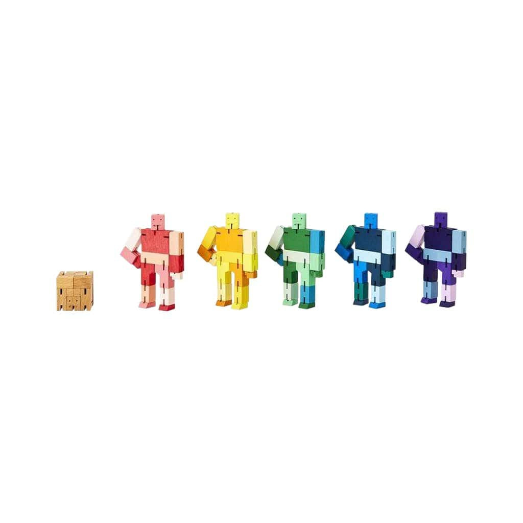 Cubebot® Capsule Collection Micro Set - 5 Cubebots