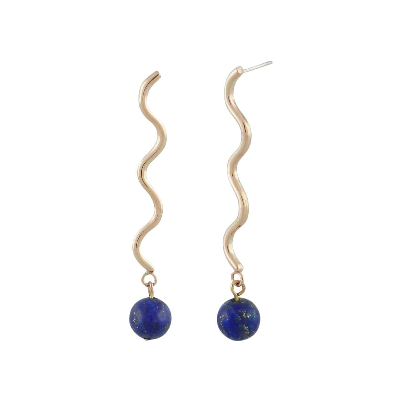 Verner Earrings w/ stone