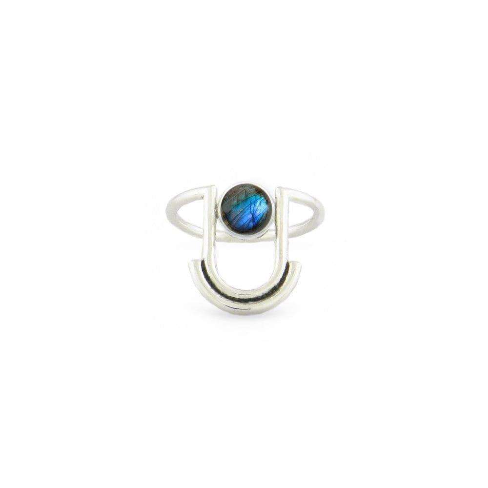 ARTIFACTS Rings Labradorite / 7 Arc Stone Ring