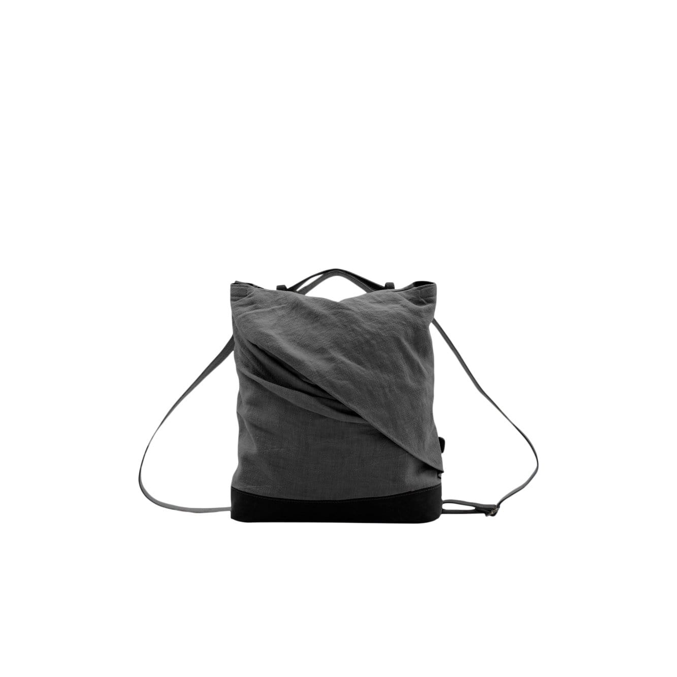 asum Backpacks charcoal (black leather) Rêve Medium