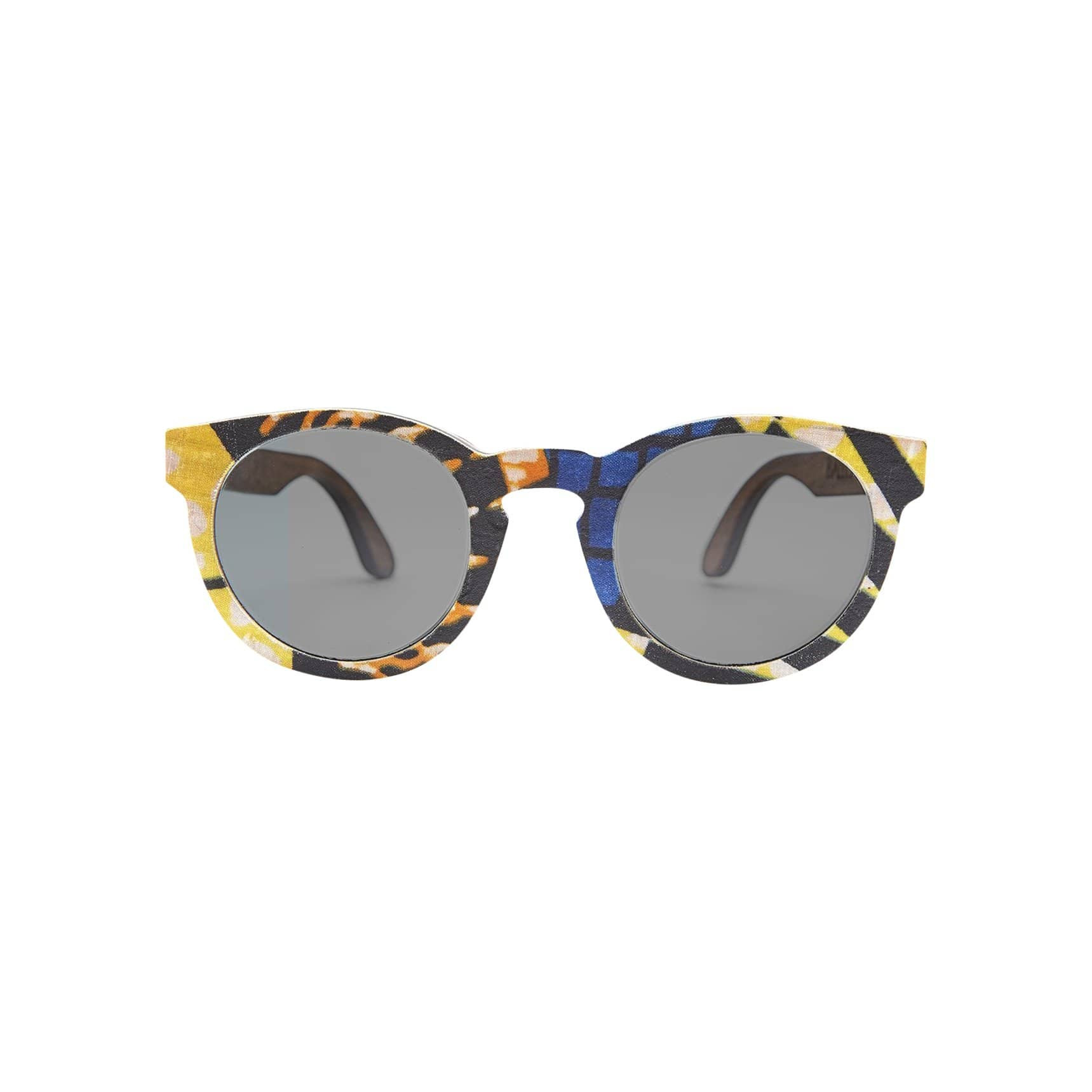 Ballo Sunglasses + Eyewear Owl with African Fabric 4