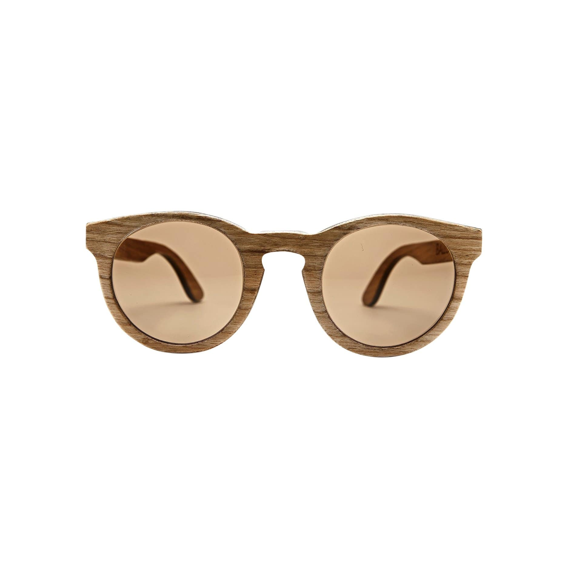 Ballo Sunglasses + Eyewear Owl with Cherry Wood