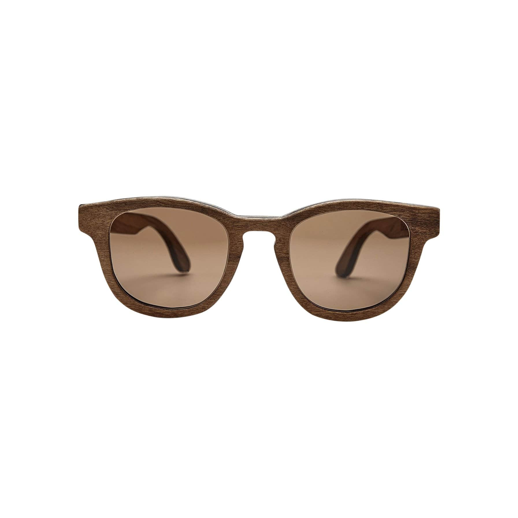Ballo Sunglasses + Eyewear Rowli with Imbuia Wood