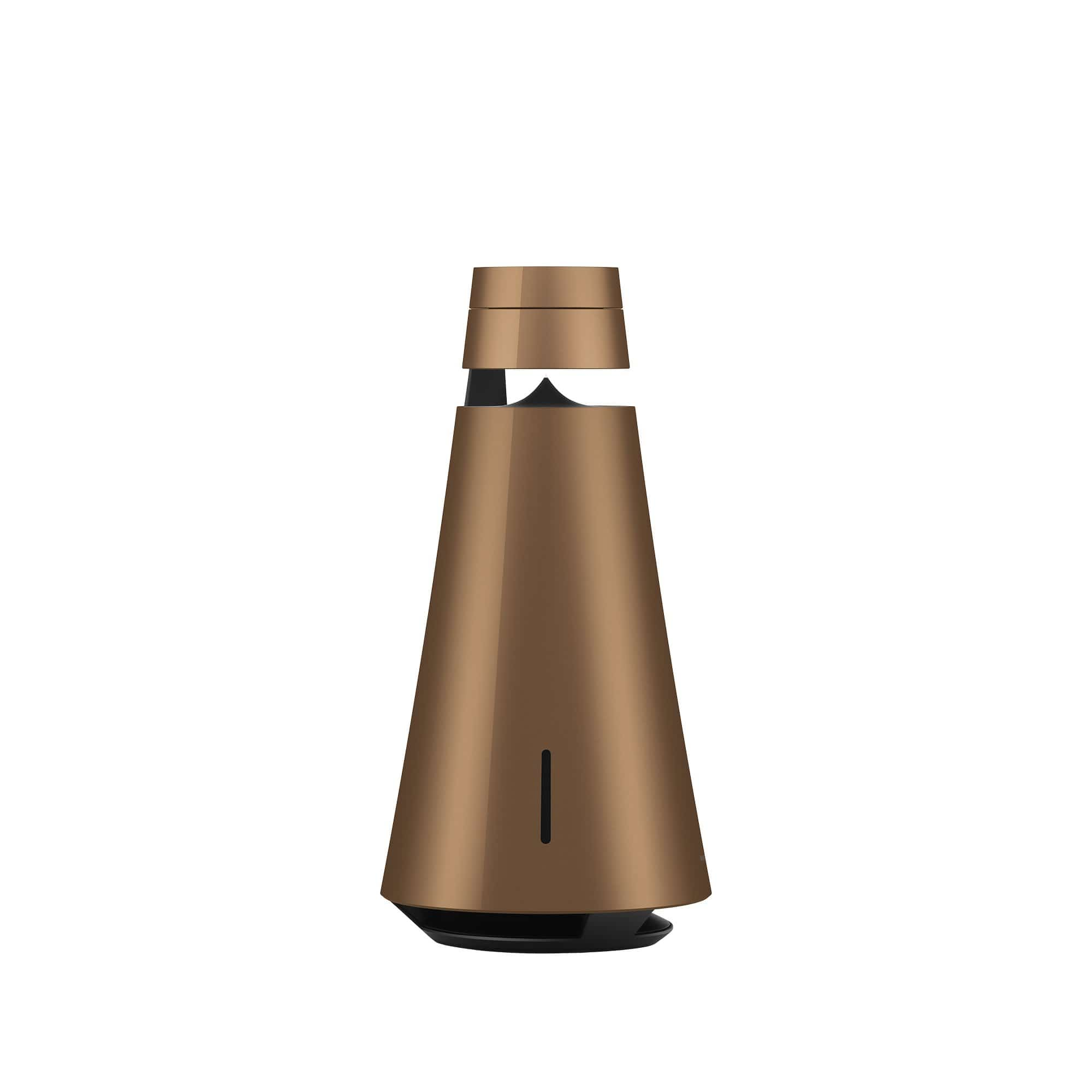 Bronze Beosound 1 + Voice Assist Wireless Portable Multiroom Speaker