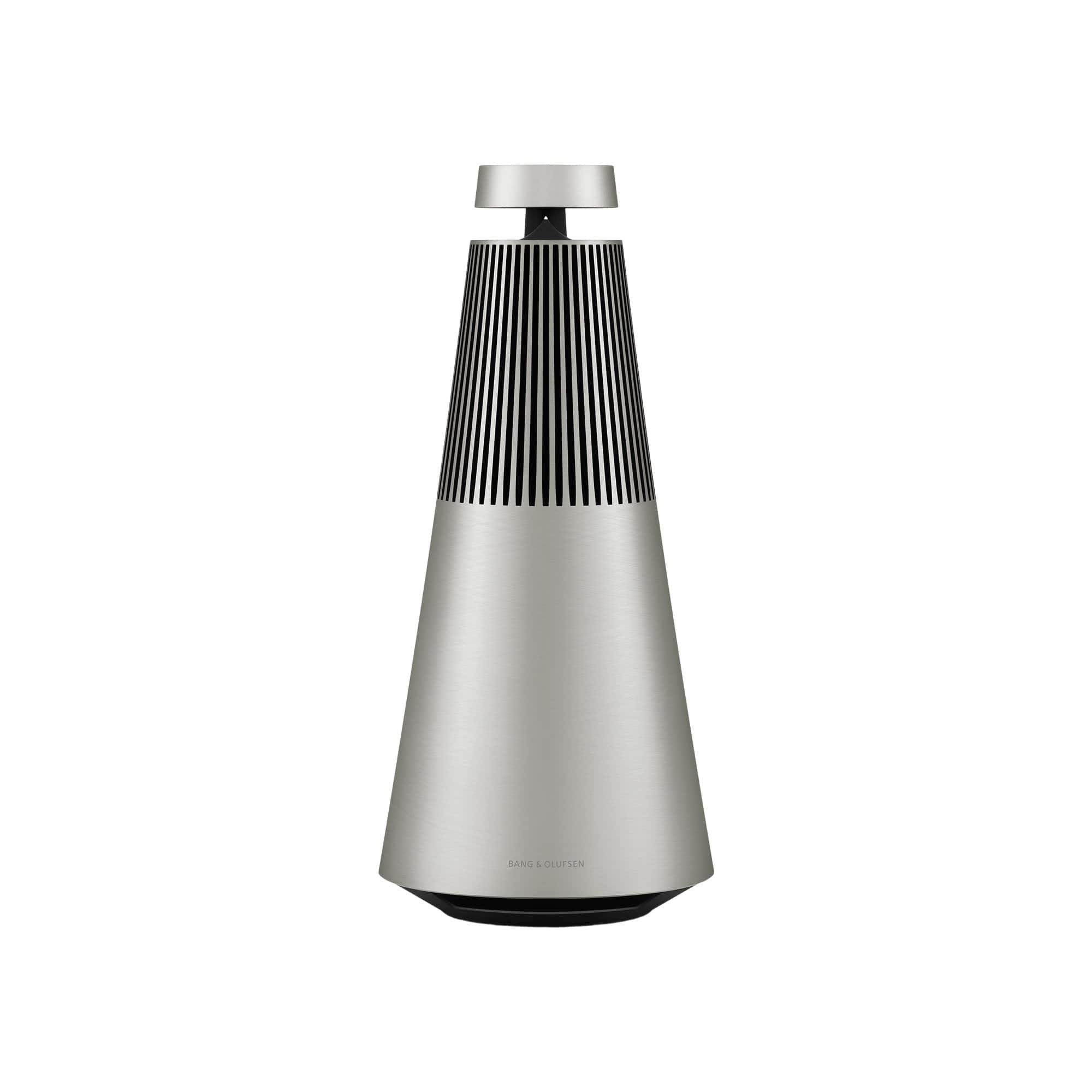 Natural Brushed Beosound 2 + Voice Assist Wireless Multiroom Speaker
