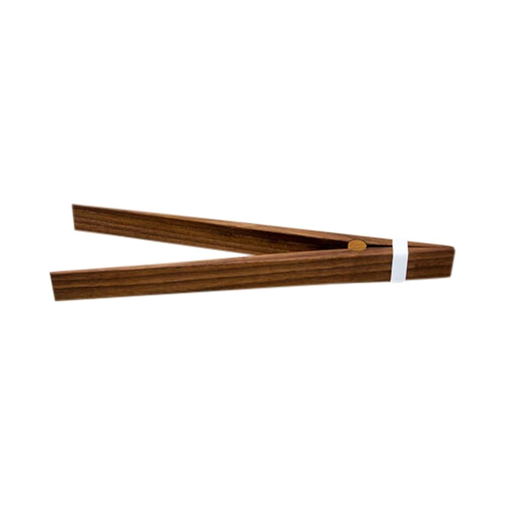 BASIT Serveware Walnut Wooden Tongs