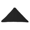 Bend Goods Cushions + Throws Black Triangle Throw Pillow