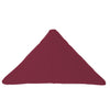 Bend Goods Cushions + Throws Burgundy Triangle Throw Pillow