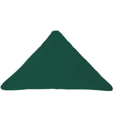 Bend Goods Cushions + Throws Forest Green Triangle Throw Pillow