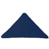 Bend Goods Cushions + Throws Navy Triangle Throw Pillow