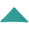 Bend Goods Cushions + Throws Teal Triangle Throw Pillow