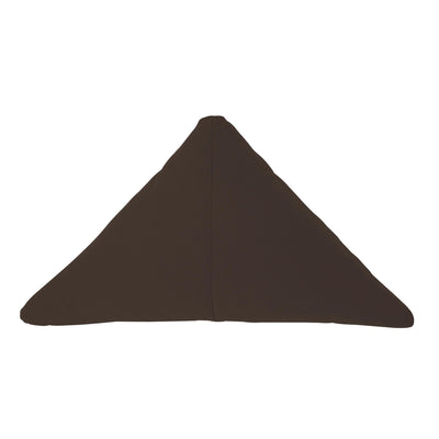 Bend Goods Cushions + Throws Walnut Triangle Throw Pillow