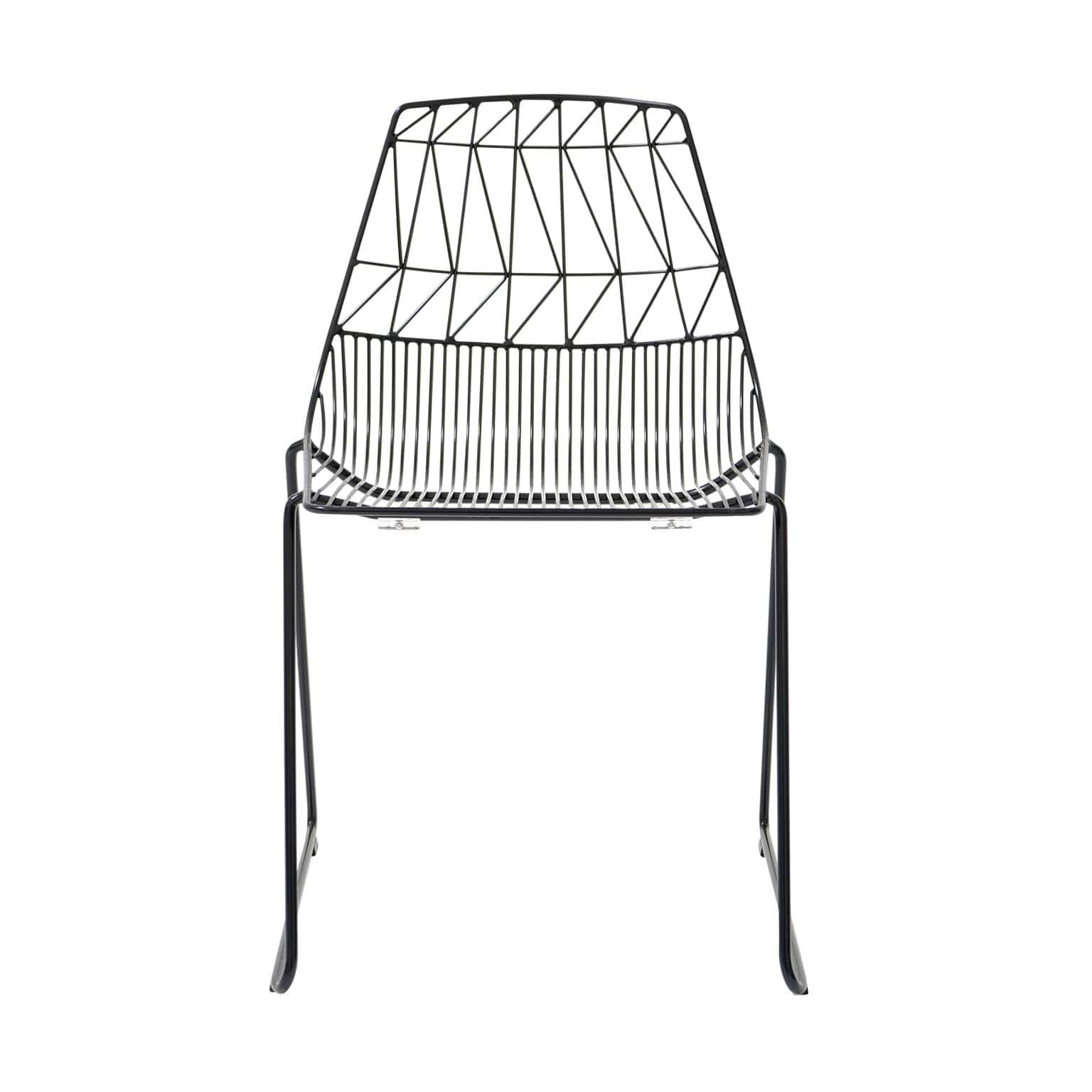 Bend Goods Furniture Black Stacking Counter Lucy Stool
