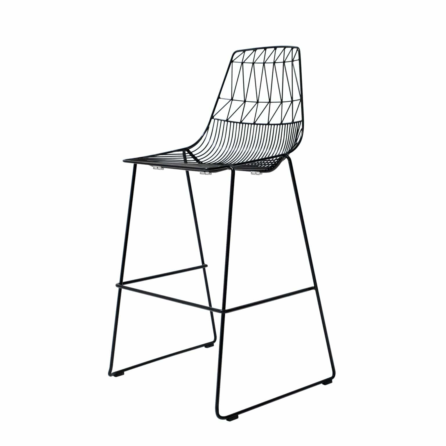 Bend Goods Furniture Black Stacking Lucy Bar Stool
