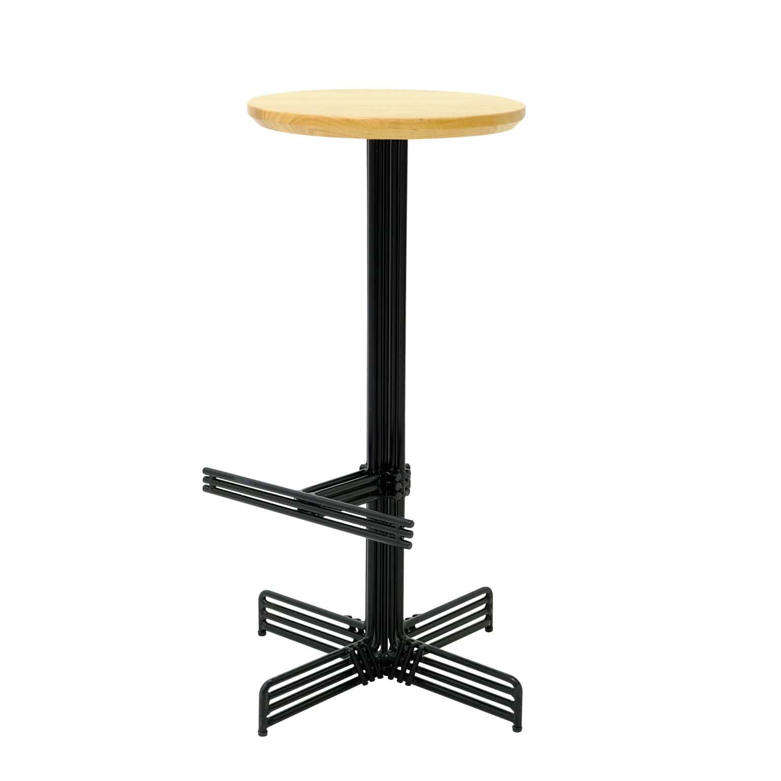 Bend Goods Furniture Black Stick Bar Stool