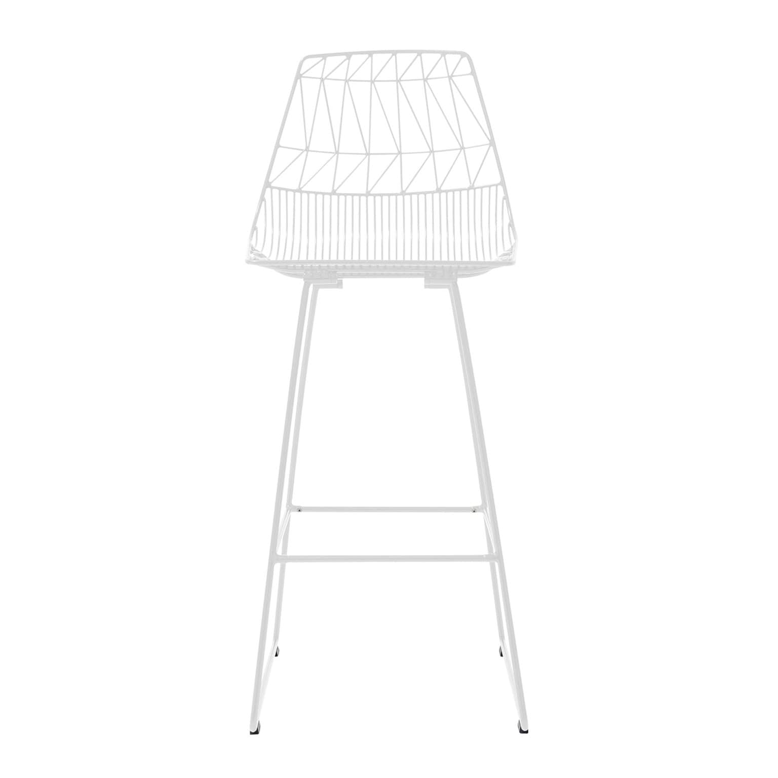 Bend Goods Furniture White Lucy Bar Stool