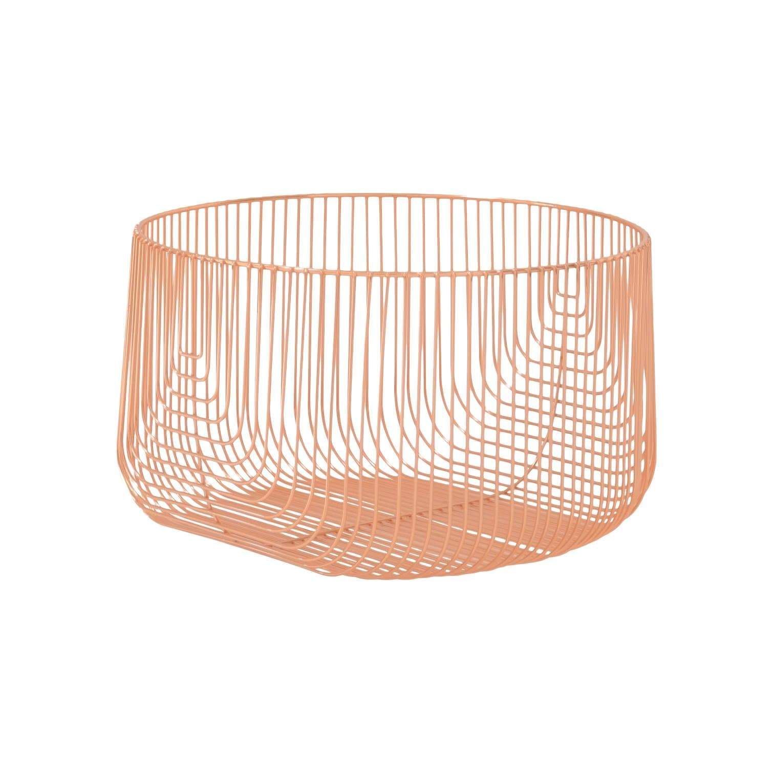 "Bend Goods Storage + Organization 18"" Wire Basket"