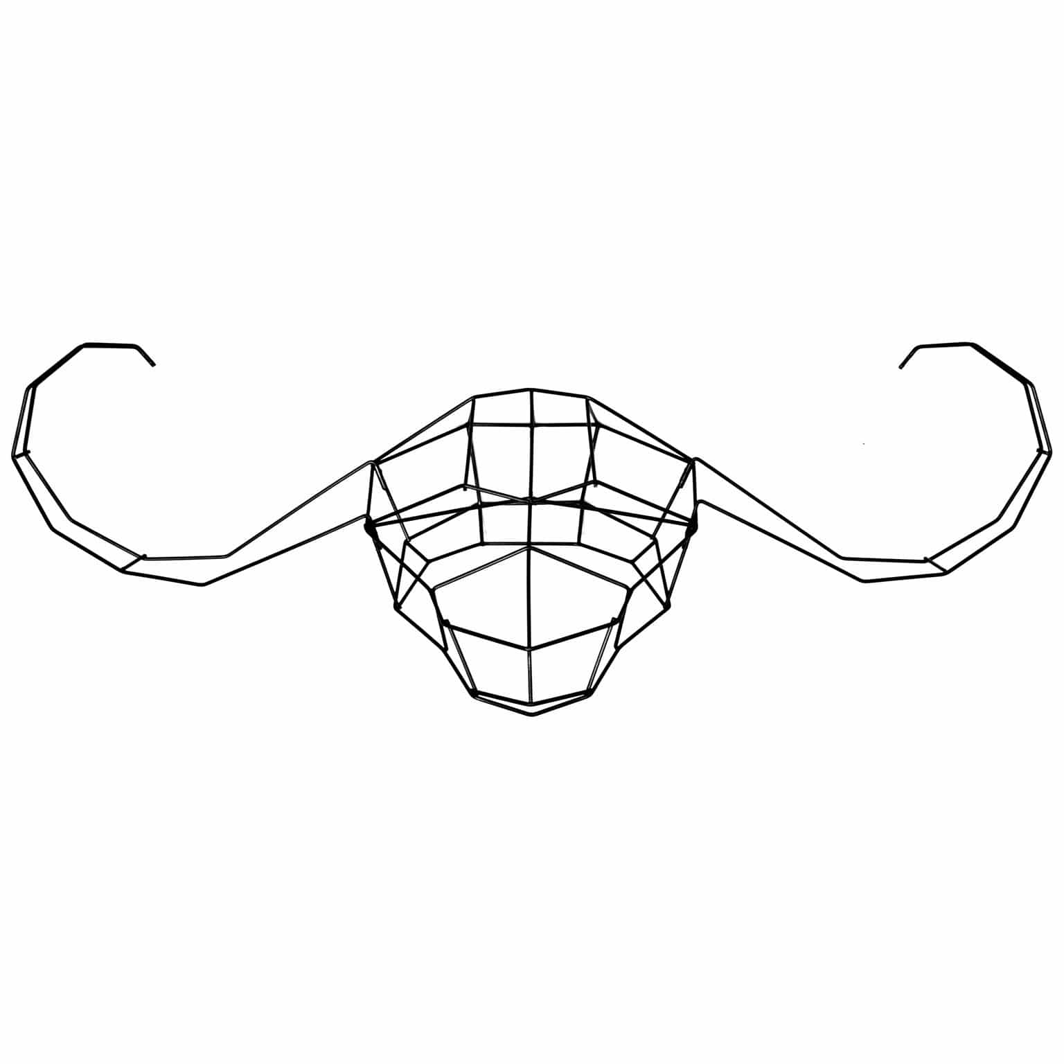 Papa Buffalo Wire Wall Decor