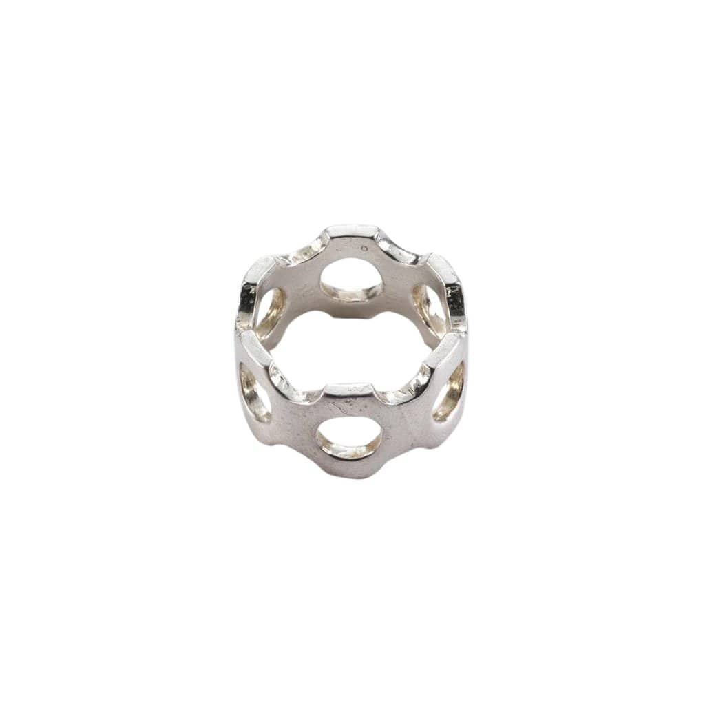 beroep | tech Rings Sterling silver Perforated Ring