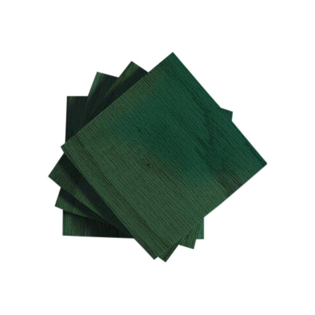 Botanicool Coasters Emerald Colored Maple Coasters