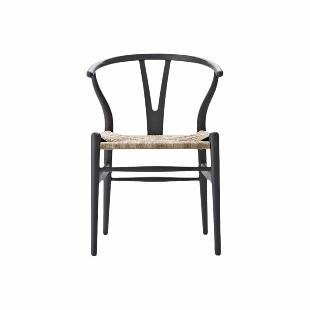 CH24 Wishbone Soft Gray Chair