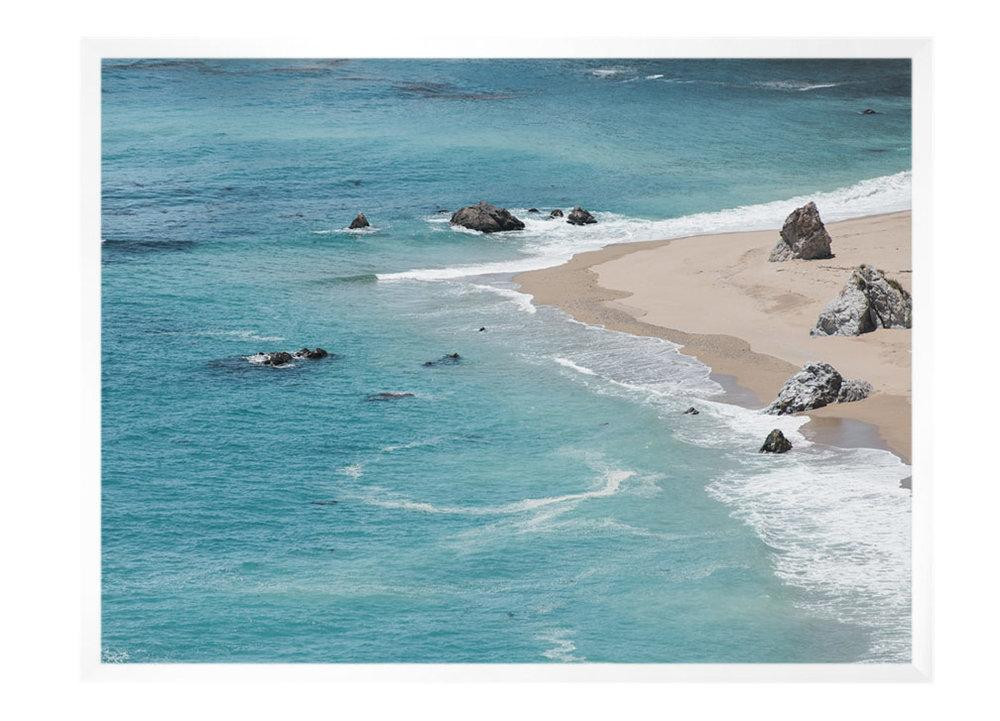 Carley Rudd Photography + Prints 11 x 14 / white frame, no mat Big Sur Cove Print