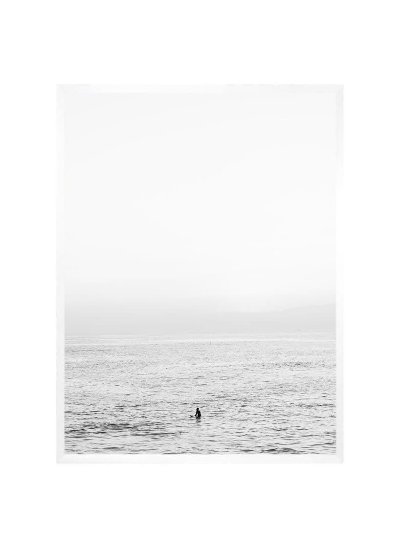 Carley Rudd Photography + Prints 11 x 14 / white frame, no mat Venice Beach Surfer B&W